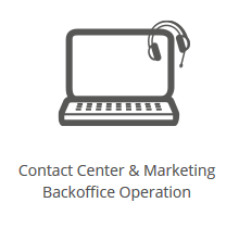 Icona Contact Center e Marketing Backoffice